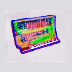Modular analog electronic synthesize Throw Blanket